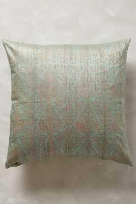 "John Robshaw Bara Pillow - Sky - 20""sq. - Down fill - Anthropologie"