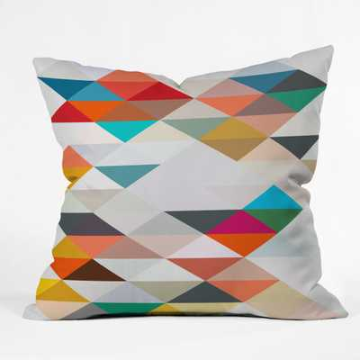"""SOUTH Throw Pillow - 20"""" x 20"""" - With insert - Wander Print Co."""