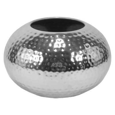 Vase Thrshd Metal 6.3in - Target