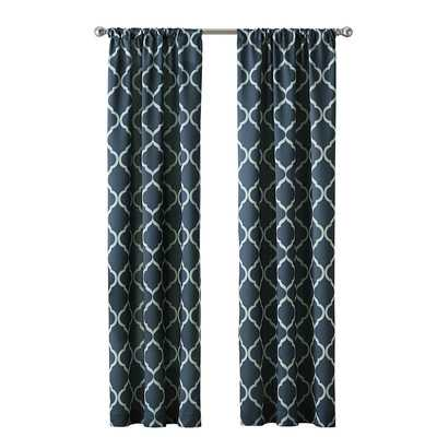 "Casbah Trellis Single Curtain Panel - 84""x40"" - Wayfair"