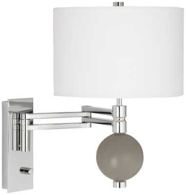 Backdrop Niko Swing Arm Wall Lamp - Lamps Plus