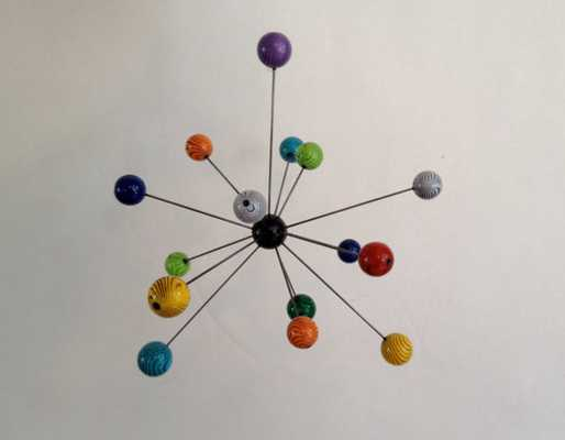 Atomic MOLECULE Molecular Art Sculpture - Etsy