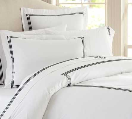 Duvet Cover- King - Pottery Barn