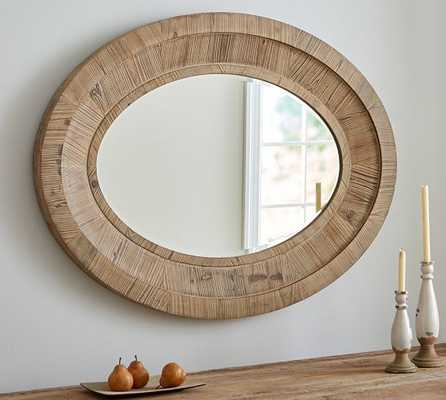 Quinn Oval Wall Mirror - Pottery Barn