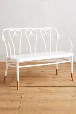 Bentwood Bench - Anthropologie
