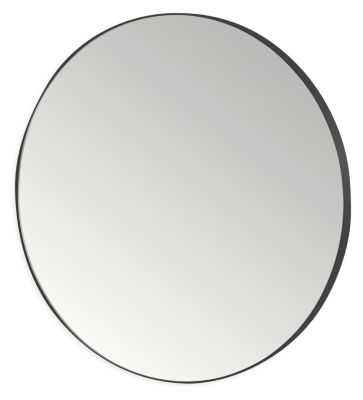 Infinity Round Mirror - Graphite - Room & Board