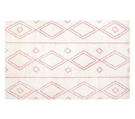 Delaney Rug - Pink - Pottery Barn Kids
