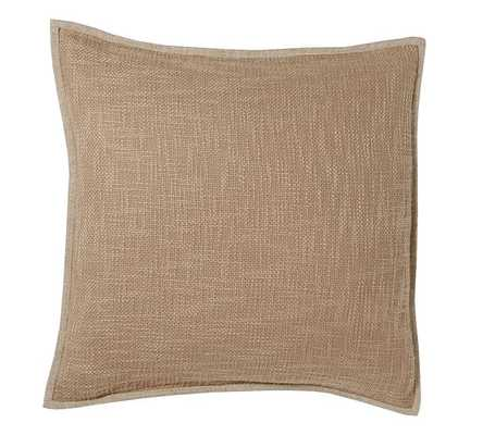 """Basketweave Pillow Cover - 20"""" square -  BAGUETTE - Insert Sold Separately - Pottery Barn"""