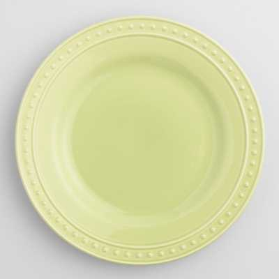 Green Nantucket Dinner Plates, Set of 4 - World Market/Cost Plus
