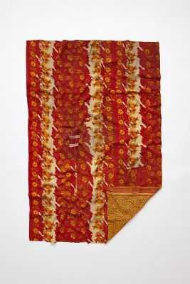 Hand-Stitched Kantha Throw - Anthropologie