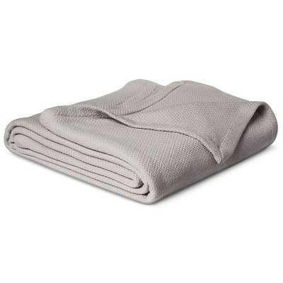 "Cotton Blanket - Solid Thresholdâ""¢ - Target"