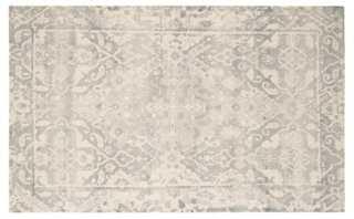 Staci Rug, Light Gray/Ivory - 8' x 10' - One Kings Lane