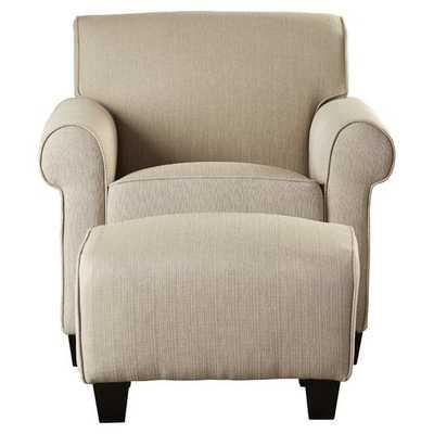 Azariah Arm Chair & Ottoman by Alcott Hill - AllModern