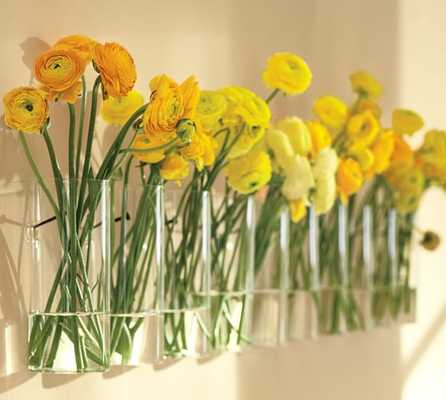 Simple Wall-Mount Vase - Pottery Barn
