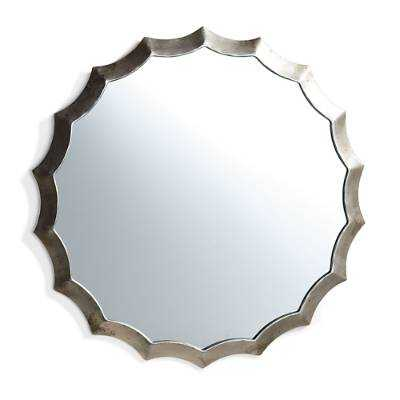 Antique Scallop Mirror - Grandin Road