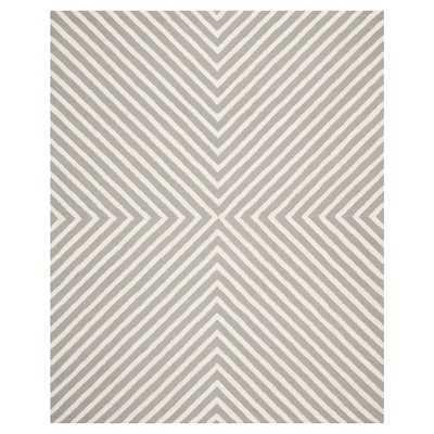 Safavieh Harper Textured Area Rug, Grey/Ivory, 8' x 10' - Target
