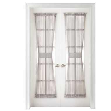Liz Claiborne® Lisette Rod-Pocket Sheer Door Panel - JC Penney