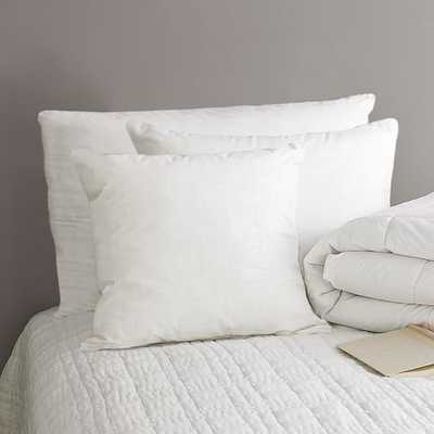 Standard Pillow Insert-Essential-Natural Down - West Elm