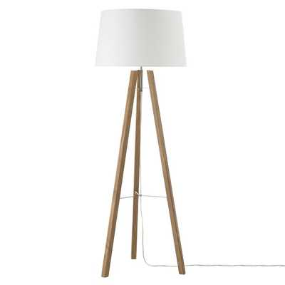 Tripod Wood Floor Lamp - West Elm