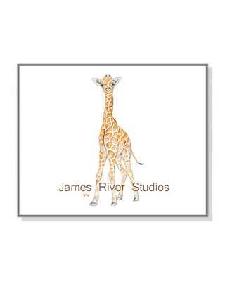 Giraffe Watercolor Print Giraffe Baby Art - unframed - Etsy