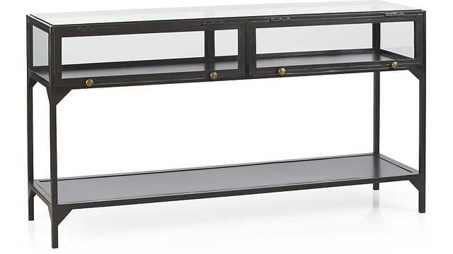 Ventana Console Table - Crate and Barrel