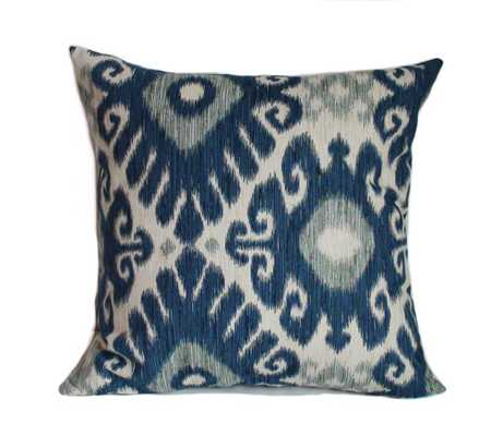 """Blue pillows -20"""" x 20""""-Insert not included - Etsy"""