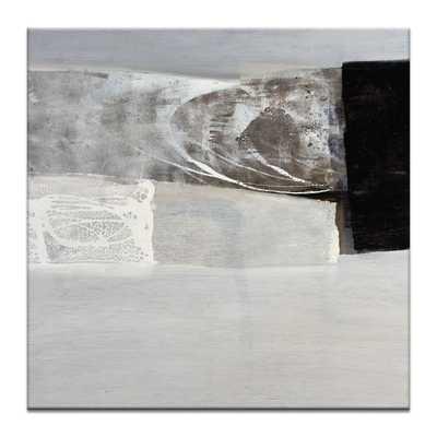 "Seismic Shift #8 Painting - 40"" H x 40"" W x 1.5"" D - Unframed - AllModern"
