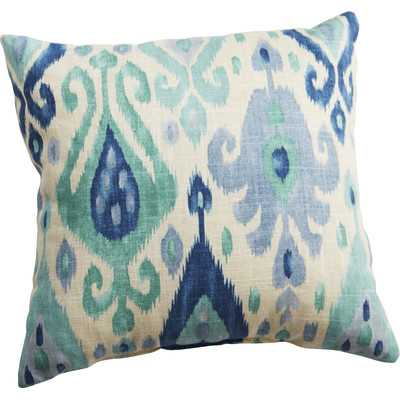 Throw Pillow - Turquoise, 17x17, With Insert - Wayfair