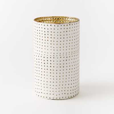 Stripes + Dots Mercury Hurricanes - Medium - Hobnail - West Elm