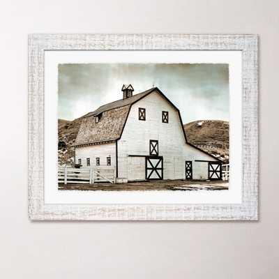 """Farmhouse Framed Print III - 19"""" H x 26"""" W - wood frame - Birch Lane"""