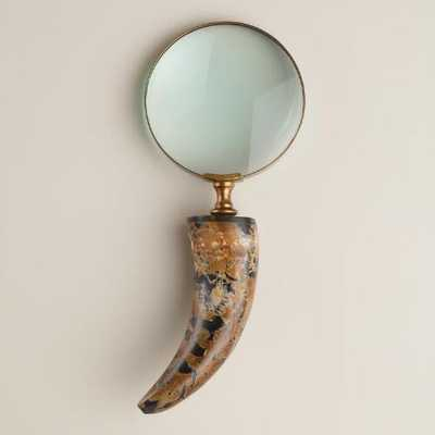 Glass Horn Magnifying Glass - World Market/Cost Plus