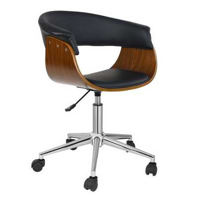 Liam Office Chair - Black - AllModern