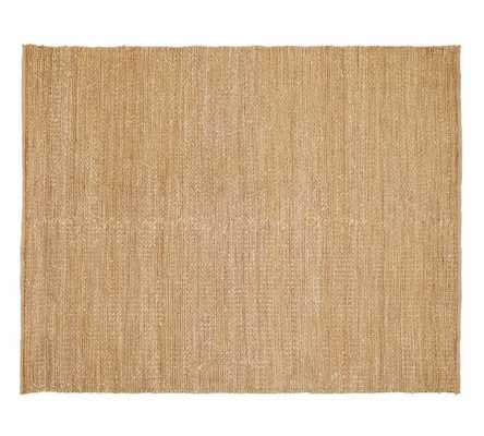 Heathered Chenille Jute Rug - Pottery Barn