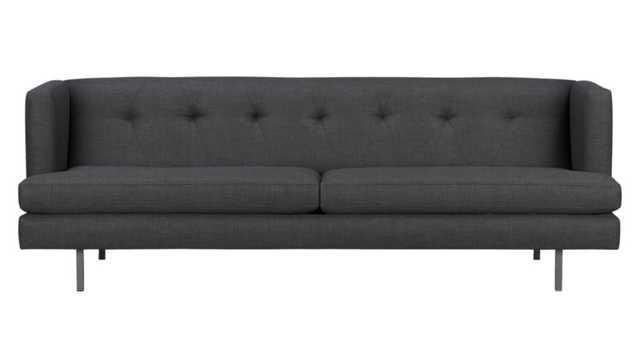 Avec sofa - Stock Fabric - Tess Carbon - CB2
