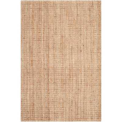 Safavieh Hand-woven Weaves Natural-colored Fine Jute Sisal-style Rug (5' x 7'6) - Overstock