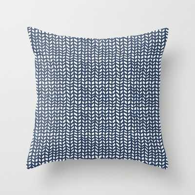 Chevrons - 20 x 20-  Faux down pillow insert - Society6