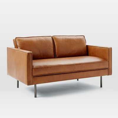 "Axel Leather 60.5"" Sofa - West Elm"