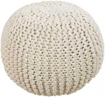 Knit Pouf - Home Decorators