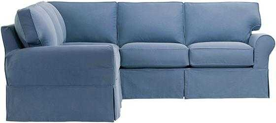 Mayfair Slipcovered Sectional - Home Decorators