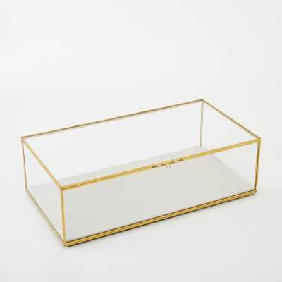 Glass Shadow Rectangle Boxe - Large - West Elm