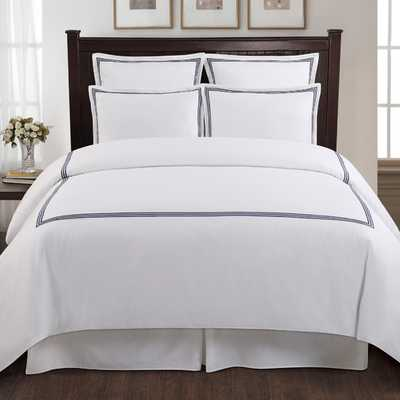 Three Line Hotel 3 Piece Duvet Cover Set - AllModern