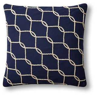 Fishnet Pillow - One Kings Lane