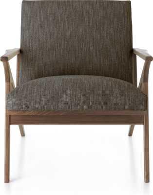 Cavett Chair - Portobello - Crate and Barrel