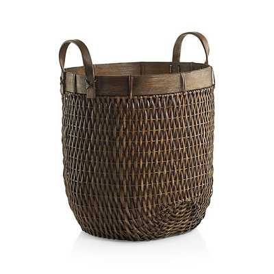 Halton Small Basket - Crate and Barrel