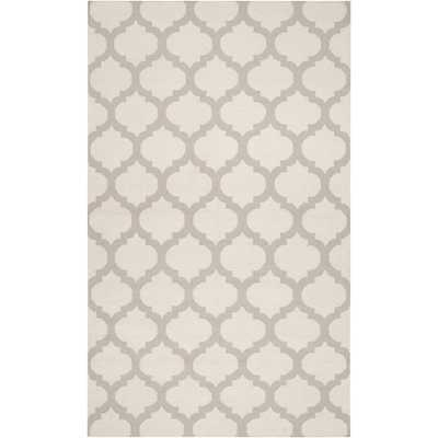 Frontier FT-120, Oatmeal White - 5' x 8' - High Fashion Home