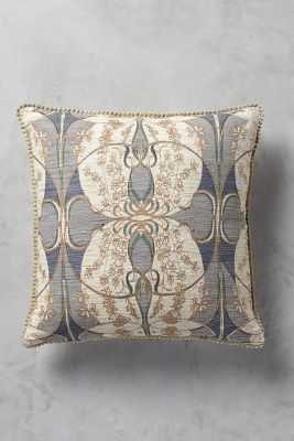 """Orlean Pillow - Grey - 18"""" sq - Poly fill - Anthropologie"""