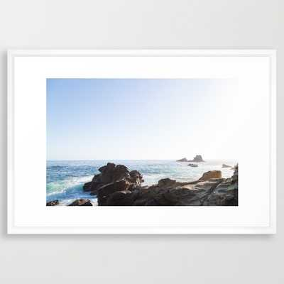 Laguna Beach Series 2 - 38x26, Framed - Society6