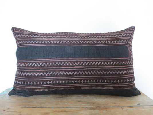 "20""x12"" Vintage Textile Decorative Cushion cover - No Insert - Etsy"