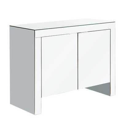 Mirage 2 Door Cabinet - Wayfair