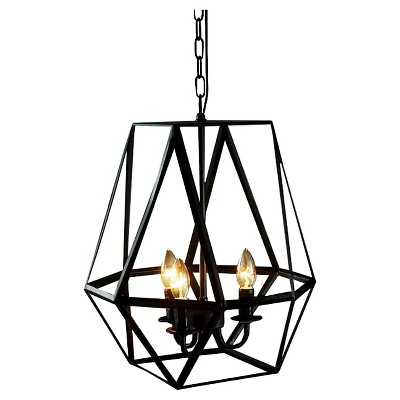 Warehouse Of Tiffany 17 X 17 X 20 Inch Brass Ceiling Lights - Target